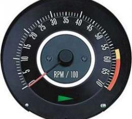 Camaro Tachometer, 6000 RPM Redline, 1967