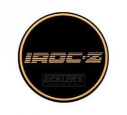 Camaro Iroc-Z, Wheel Center Cap Insert, 1988