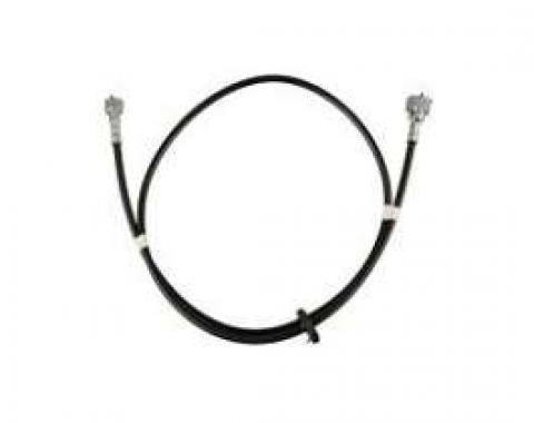 Camaro Speedometer Cable Assembly, 58, With Firewall Grommet, 1967-1968
