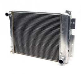 """Camaro Radiator, Aluminum, 21"""", Griffin Pro Series, For Cars With Manual Transmission, 1967-1969"""