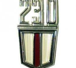 Camaro Fender Emblem, 230, 1967