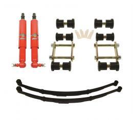 Detroit Speed Rear Speed Kit 1 Suspension Kit 3 Inch Drop Multi-Leaf 67-69 F-Body 041602