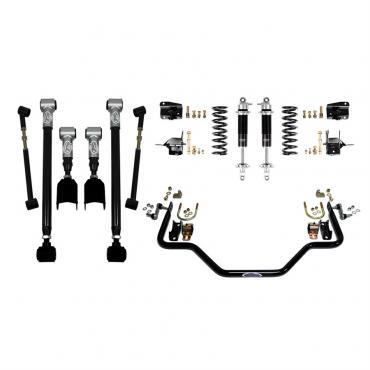 Detroit Speed Rear Speed Kit 3 68-72 A-Body Base Shocks (Stock Axle) 041612