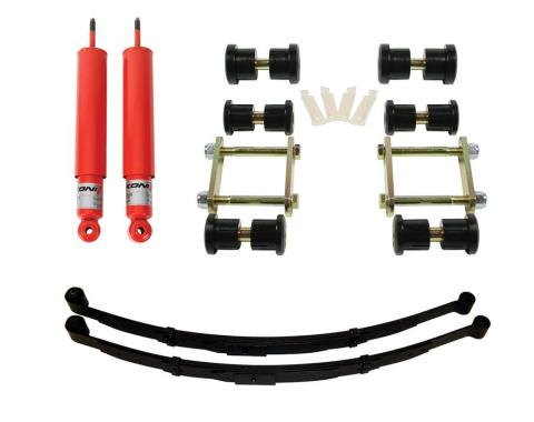 Detroit Speed Rear Speed Kit 1 Suspension Kit 3 Inch Drop Mono-Leaf 67-69 F-Body 041632