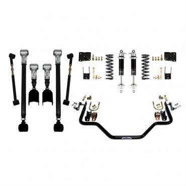 Detroit Speed Rear Speed Kit 3 67 A-Body Base Shocks (Moser Axle) 041623