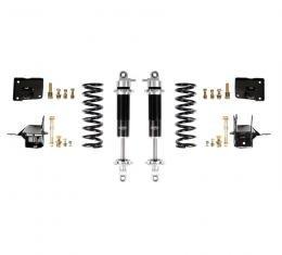 Detroit Speed 67 A-Body Rear Coilover Kit Base Shocks Stock Rear Axle 042406