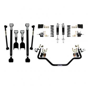 Detroit Speed Rear Speed Kit 3 67 A-Body Base Shocks (Stock Axle) 041613