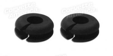 Corvette Washer Hose Firewall Grommet, 2 Required, 1963-1976