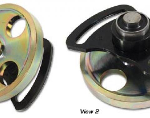 Corvette Idler Pulley, with Bracket 427/454 with Air Conditioning, 1969-1974