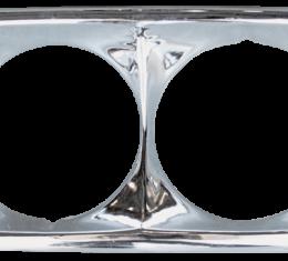 Key Parts '69-'72 Headlight Bezel, Driver's Side 0849-057 L