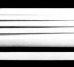 Corvette Door Panels-Finned, Aerotech, 1991-1996