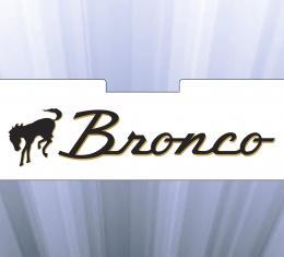 Scott Drake 1966-77 Bronco Sun Shade ACC-700-BRONCO