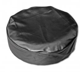 "Scott Drake Tire Cover (Black, 15"", Vinyl) TC-BLK-15V"