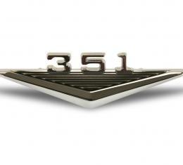 Scott Drake 1964-1966 Ford Mustang 64-6 351 Fender Emblem C3OZ-16228-351