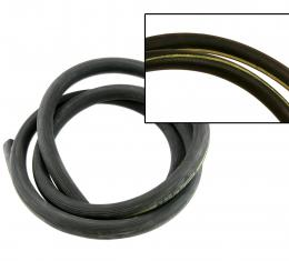 Scott Drake 1964-1973 Ford Mustang Heater Hose (With Yellow Stripe) C5ZZ-18472-Y