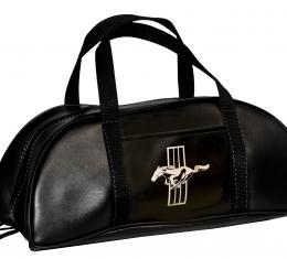 Scott Drake 1964-73 Mustang Tote Bag (Large, Black with Emblem) TB-FM-BK-E