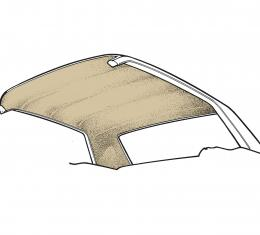 Scott Drake 1965-1970 Ford Mustang 65-70 Coupe Headliner (Parchment) HL-FM-CP-65-PR