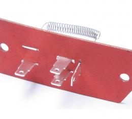Scott Drake 1965-1967 Ford Mustang 65-67 Heater Resistor Assembly (3 Speed) C2OA-18591-A