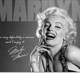 Tin Sign, Marilyn - Definately