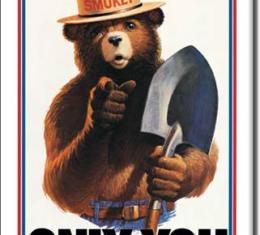 Magnet, Smokey Bear-Only You