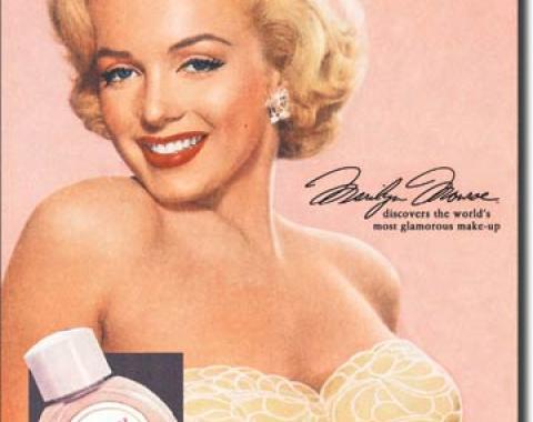 Tin Sign, Marilyn Monroe New-U