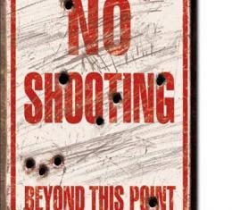 Magnet, No Shooting