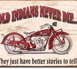 Tin Sign, Indian - Better Stories