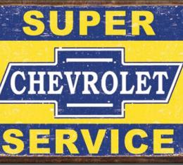 Magnet, Super Chevy Service