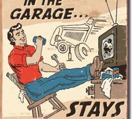 Tin Sign, Schonberg - Happens in Garage
