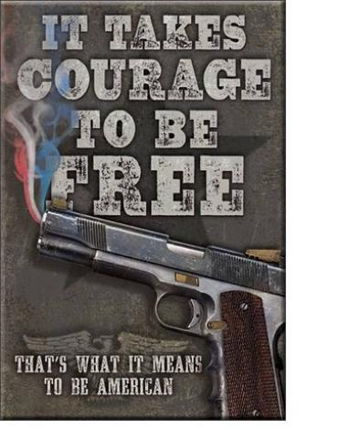 Magnet, Courage to be Free