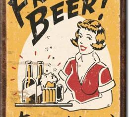 Magnet, Moore - Free Beer