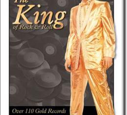 Magnet, Elvis-Gold Lame' Suit