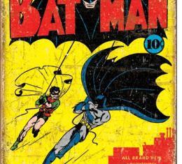 Tin Sign, Batman No1 Cover