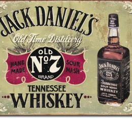 Tin Sign, Jack Daniels - Hand Made