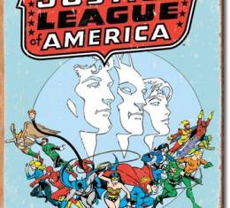 Tin Sign, Justice League Retro