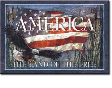 Magnet, America - Land of Free