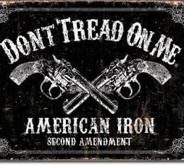 Tin Sign, DTOM - American Iron
