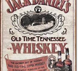 Tin Sign, Jack Daniels - Sippin Whiskey