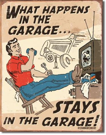 Tin Sign, Schonberg - Happens in Garage