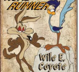 Tin Sign, Road Runner & Wyle E Coyote