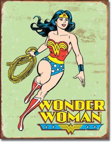 Tin Sign, Wonder Woman Retro