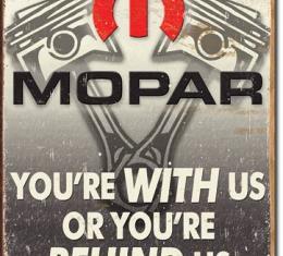 Tin Sign, Mopar - Behind Us