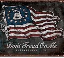 Tin Sign, DTOM - Vintage Flag