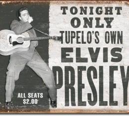 Tin Sign, Elvis - Tupelo's Own