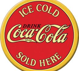 Magnet, COKE - Ice Cold ROUND