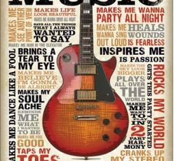 Tin Sign, Music Inspires Me