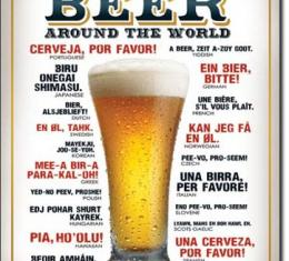 Tin Sign, How to Order a Beer
