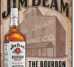 Tin Sign, Jim Beam - Still House