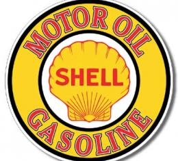 Tin Sign, Shell Gas & Oil