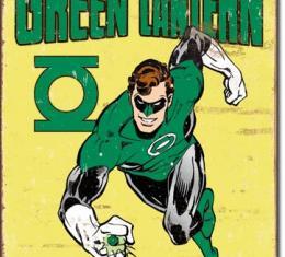 Tin Sign, Green Lantern - Retro